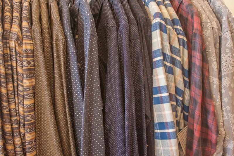 Long-sleeved shirts at Unite in Northampton, MA