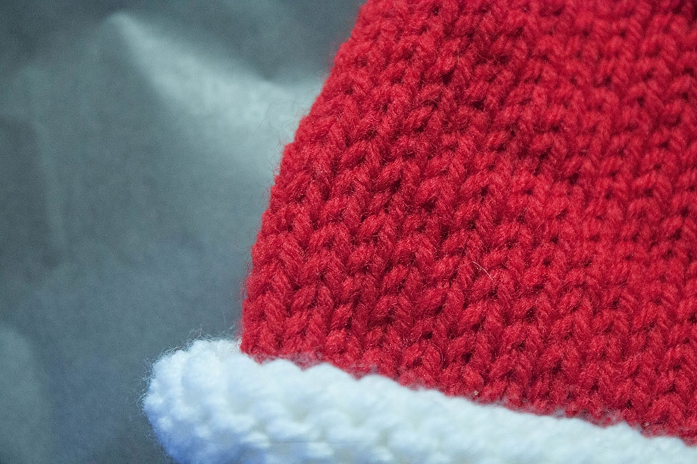 Diy Santa Hat For Baby The Homesteady