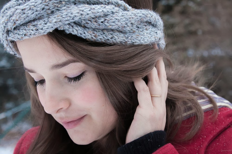 Diy Braided Knit Headband A Free Pattern The Homesteady