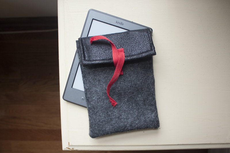 Sew a Kindle case