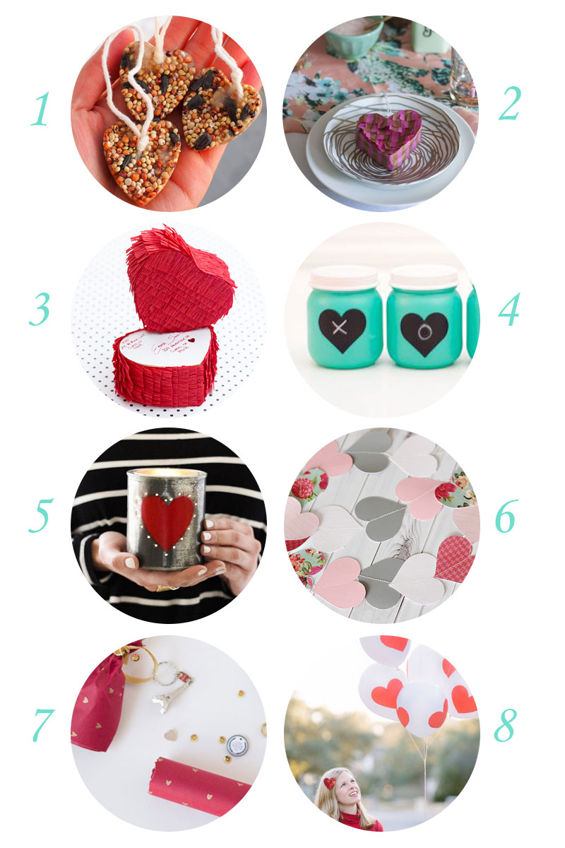 Eight affordable Valentine's Day crafts