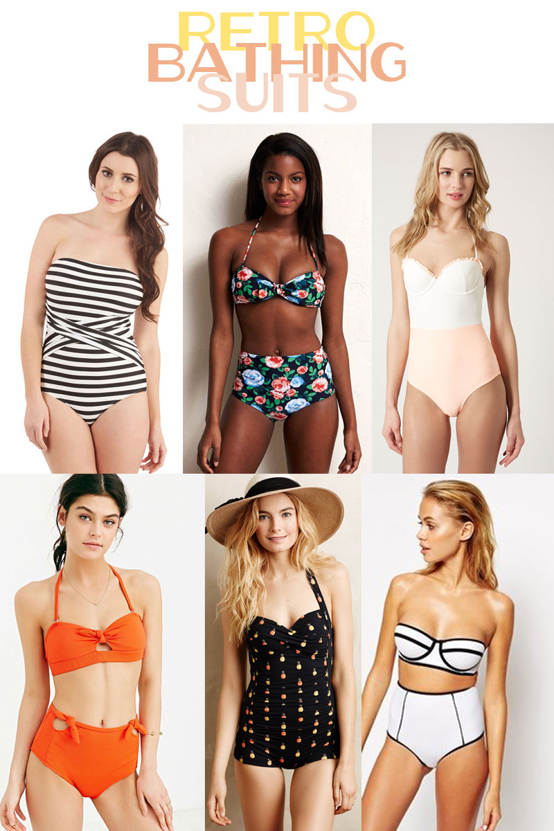 Retro bathing suits (you can actually afford)