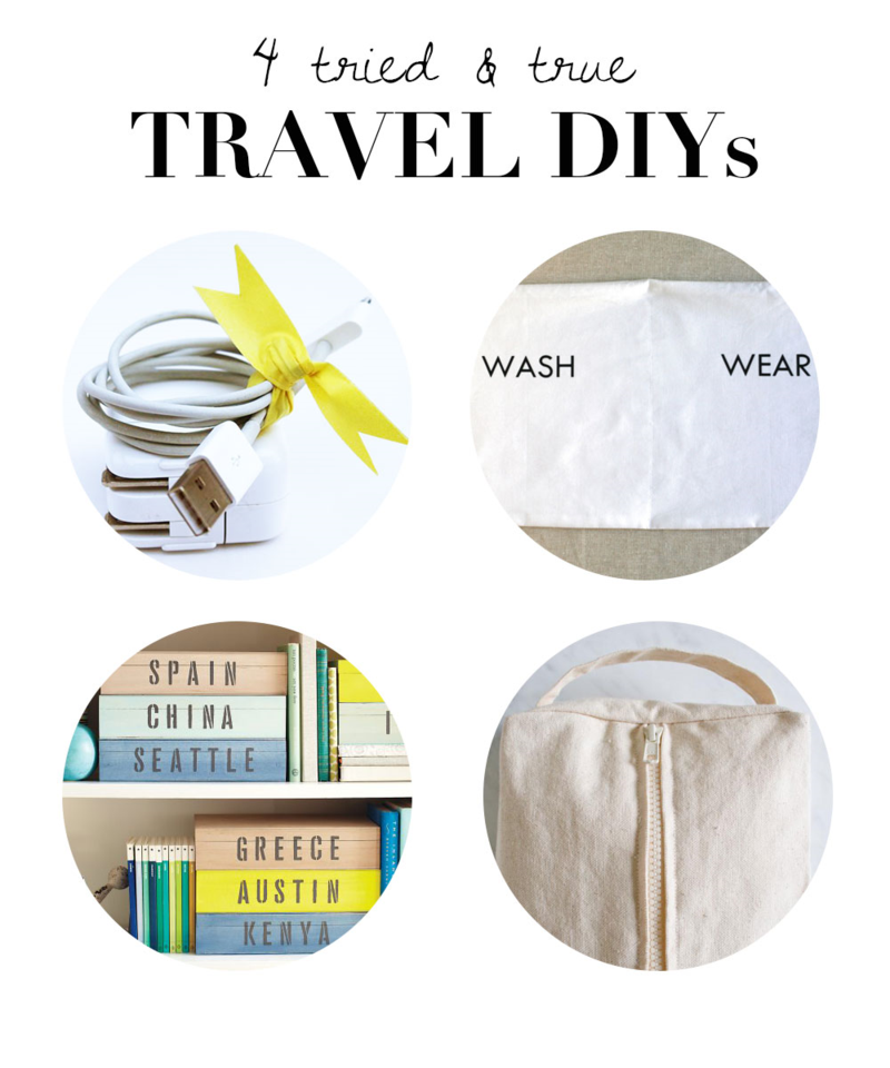 Tackle these four easy DIY projects before your next trip!