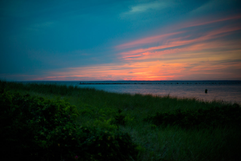 Sunset at Cape Cod