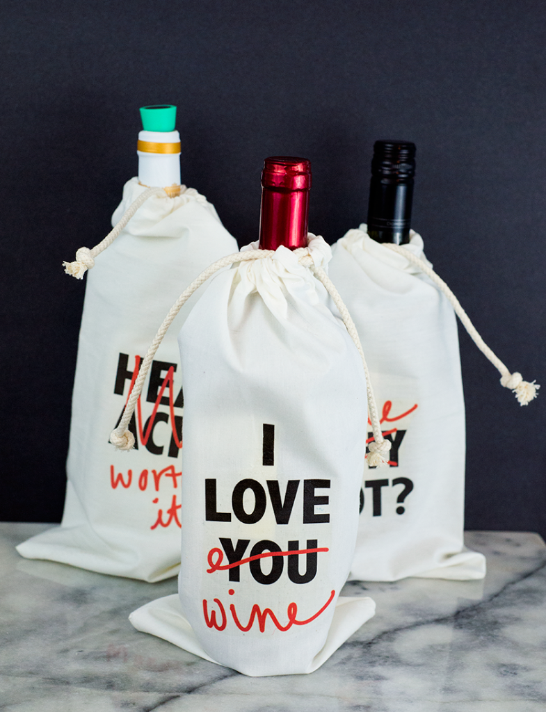Wine bag tutorial