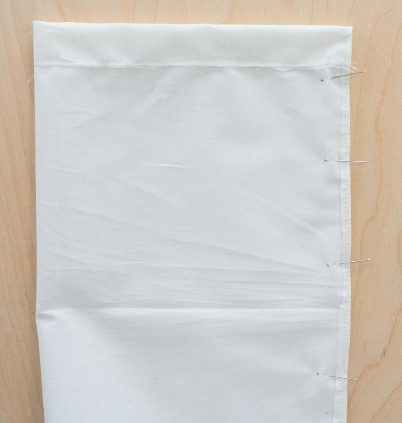 Fabric wine bag tutorial