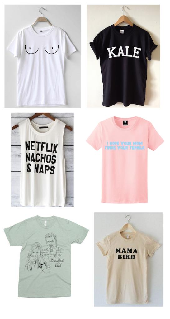 Etsy t-shirts