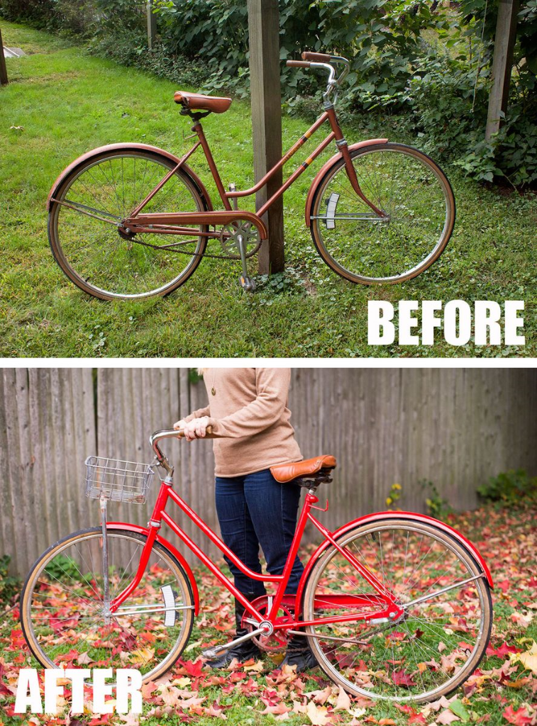 How To Paint A Bicycle The Homesteady