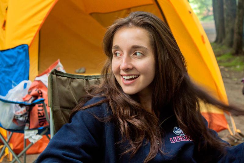 Phoebe camping