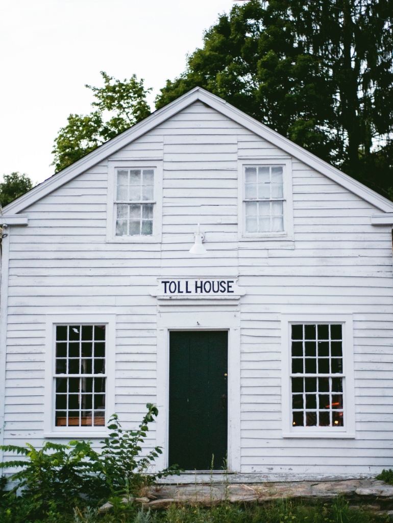 Antique toll house in Cornwall, Connecticut