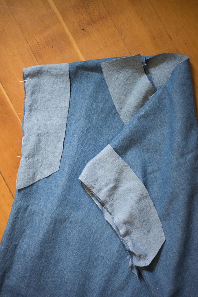 Simple shift dress sewing tutorial