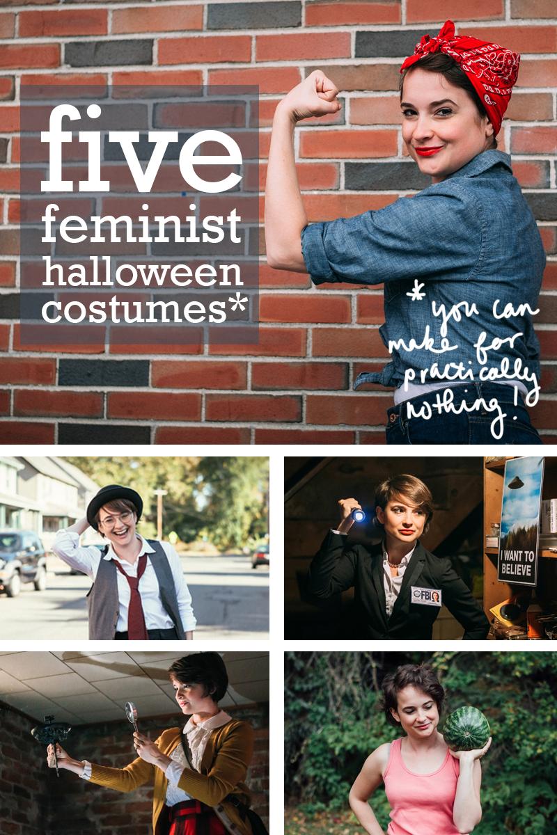 Five #feminist Halloween costumes!