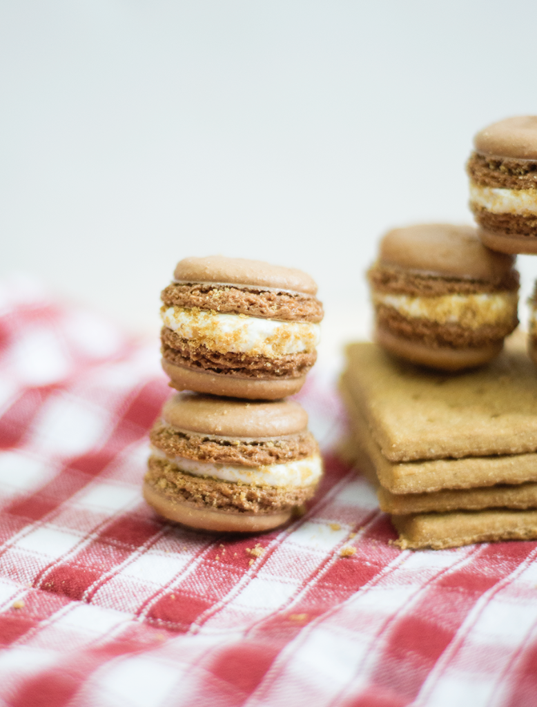 S'mores French macarons recipe