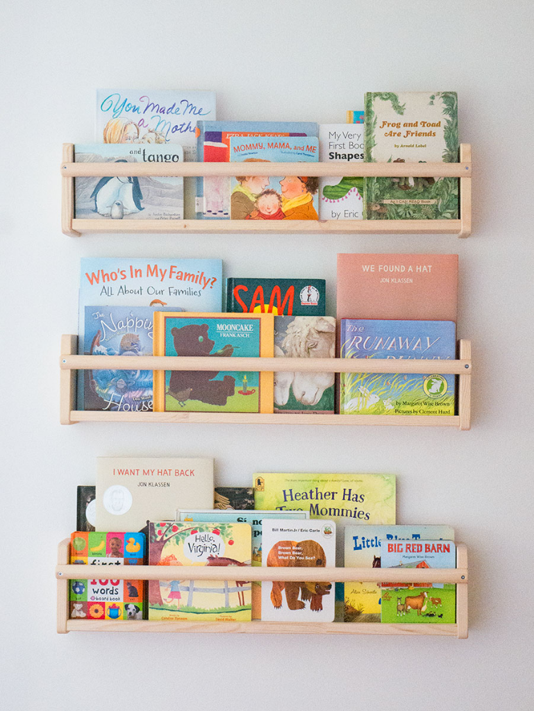 Nursery book storage