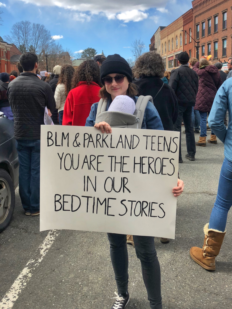 Baby's first protest