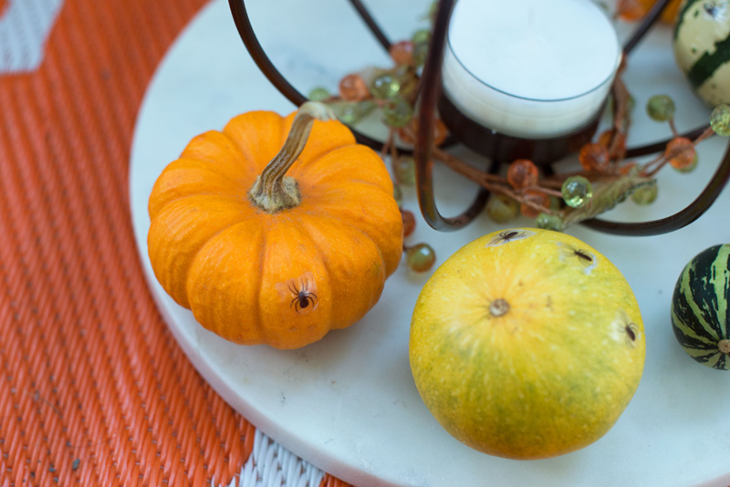 Put an extra special creepy touch on your Halloween tablescape...