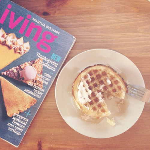 Waffles and MS Living