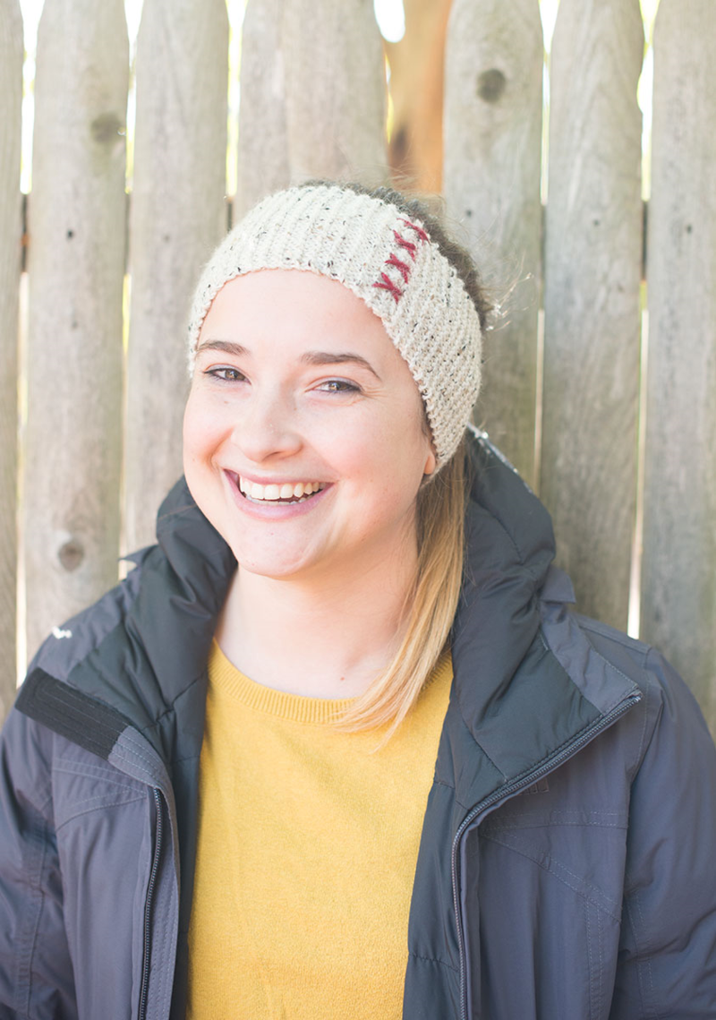 Knit this easy headband in one afternoon