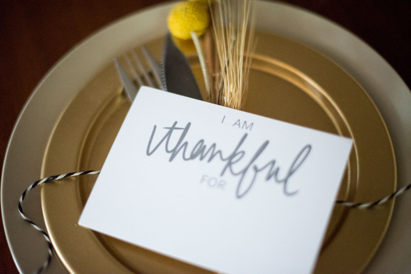 "Download and print these ""I am thankful"" cards for #Thanksgiving -- for free!"