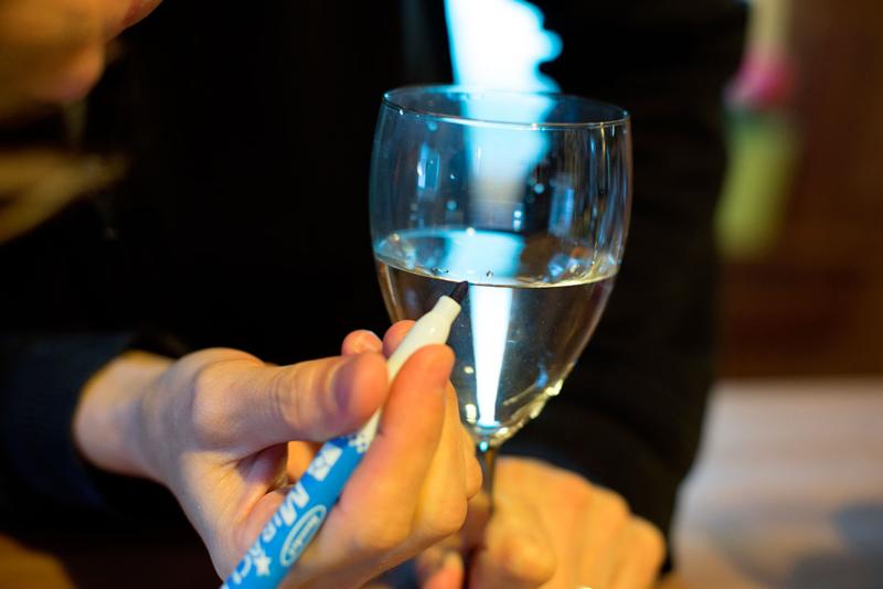DIY musical wine glasses