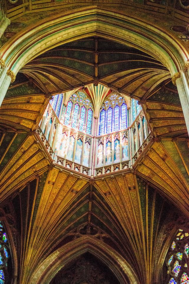 The Octagon of the Ely Cathedral in Ely, England