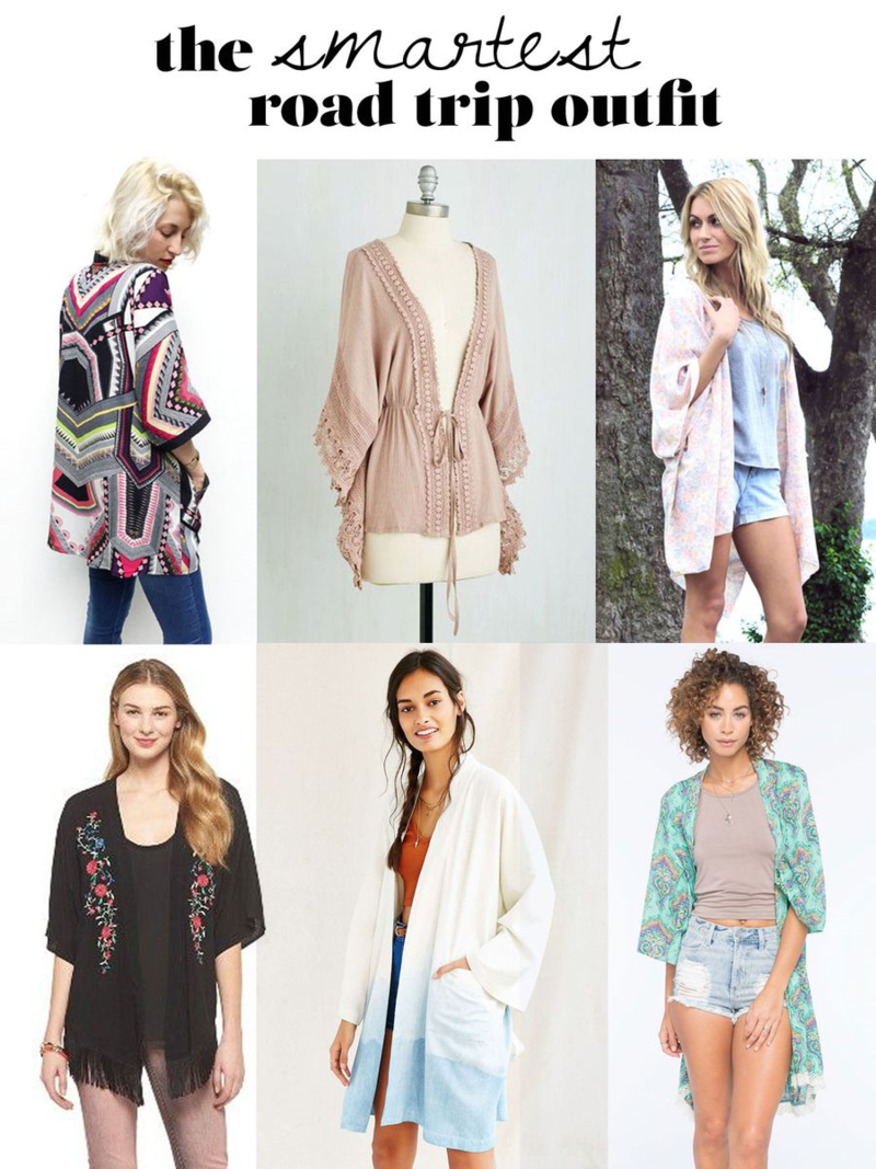 Click through for information on the SMARTEST outfit you'll wear on a road trip this summer!