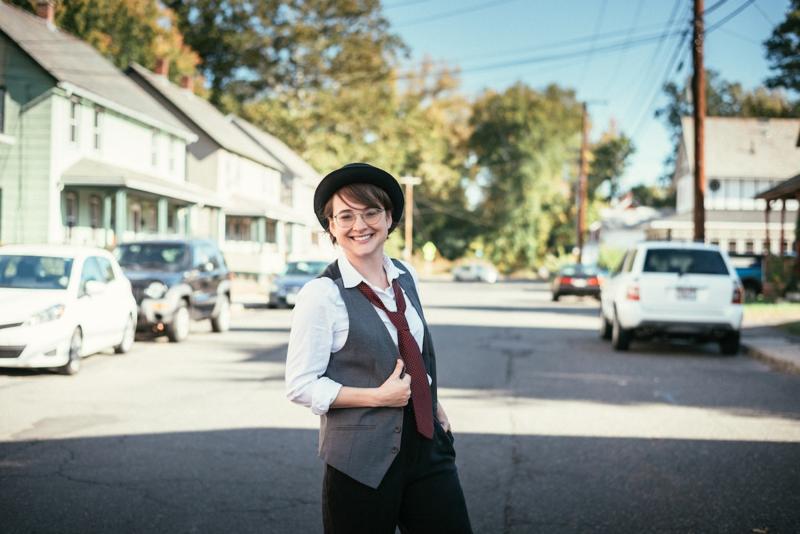 Annie Hall Halloween costume