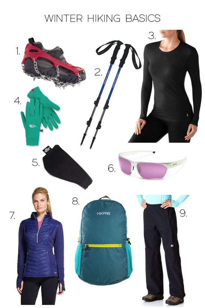 Winter hiking basics for women