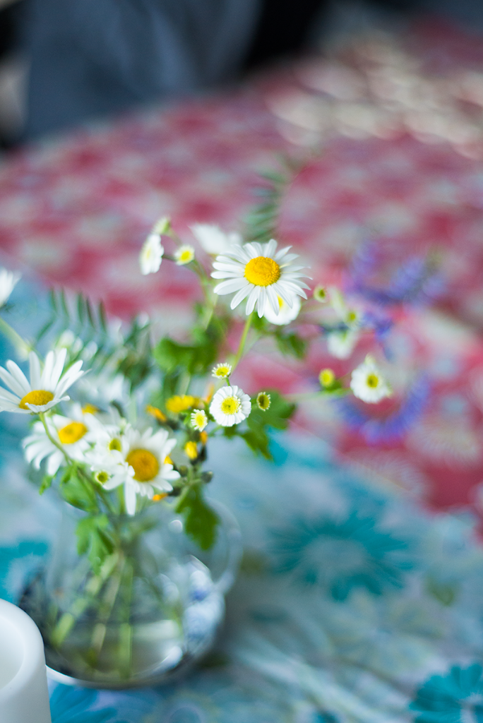 Wildflowers on the table