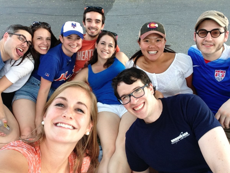 Selfie at the Mets game!