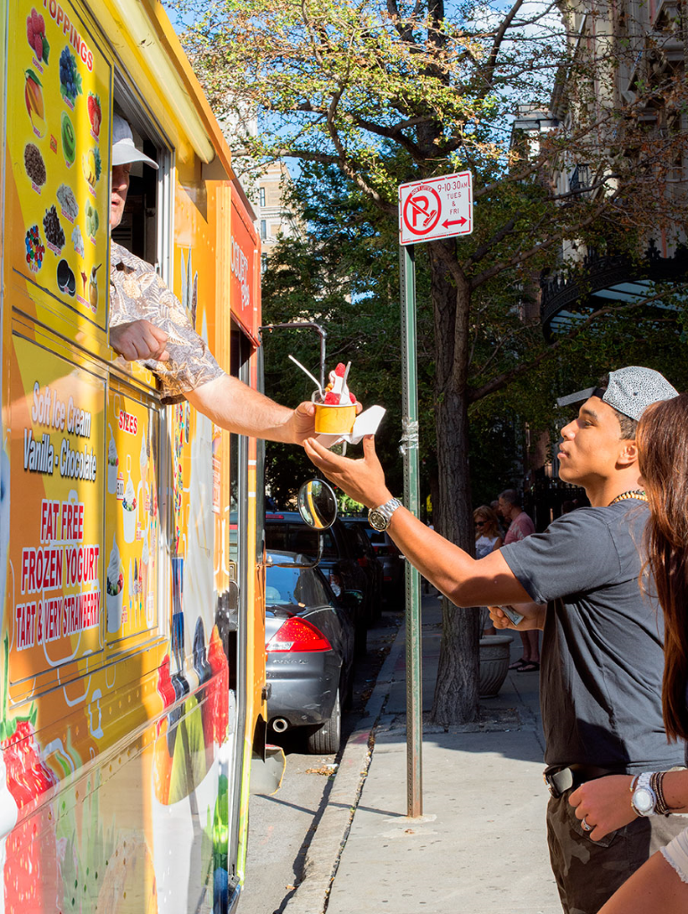 Ice cream truck in NYC