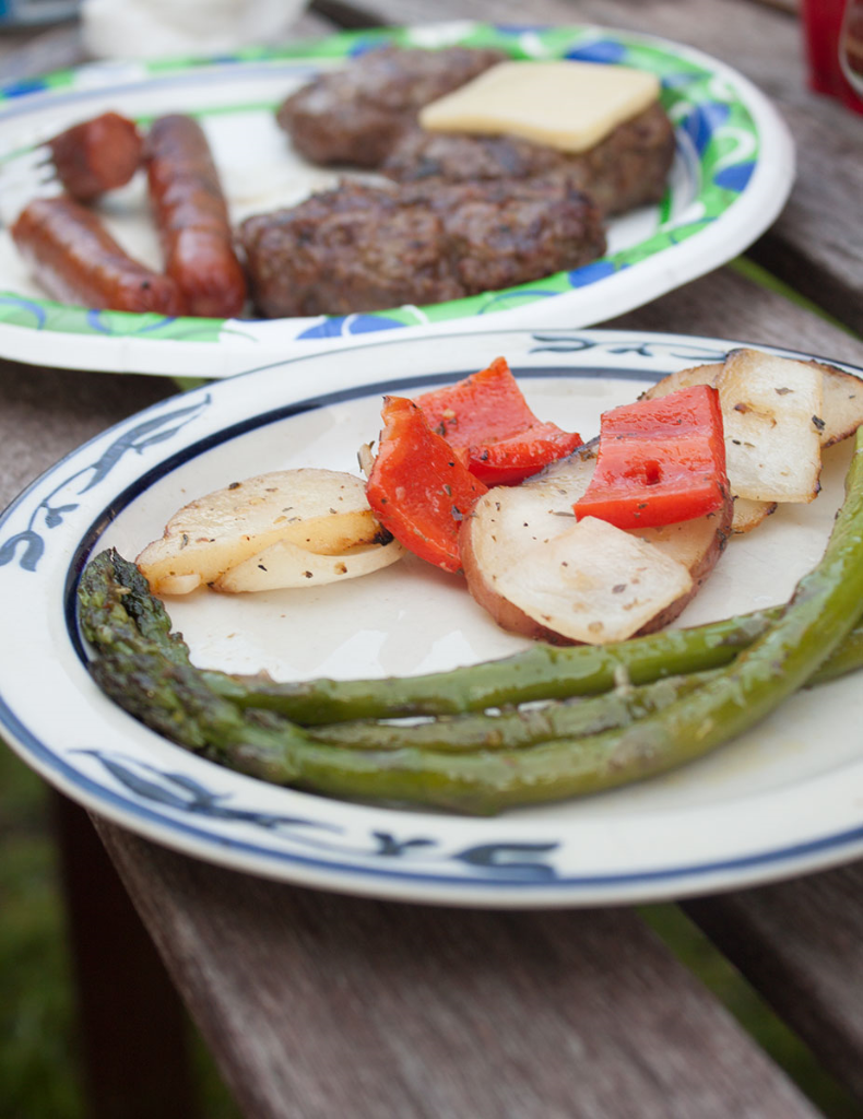 The best recipe for grilled asparagus -- simple and unforgettable