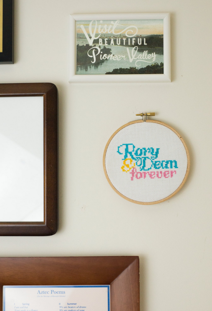 Gilmore Girls cross stitch