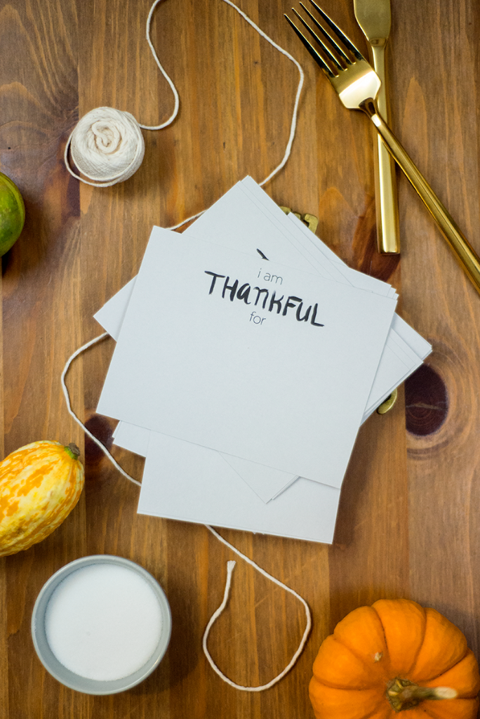 "Free ""thankful"" printable"