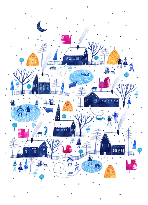 Christmas Card by Madalina Andronic