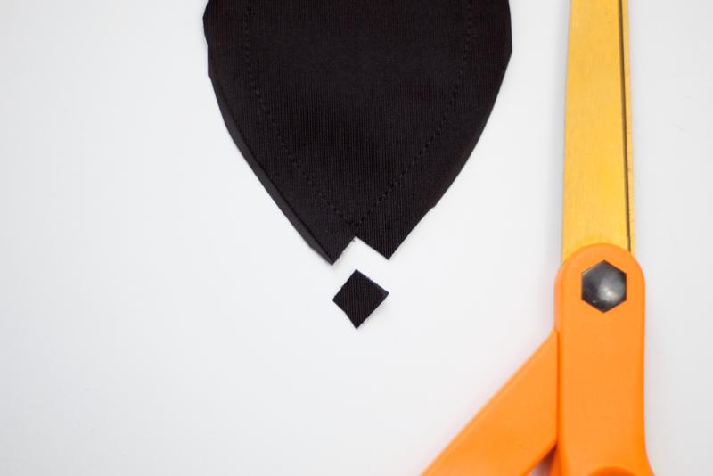 DIY chalkboard bunny ear napkin rings