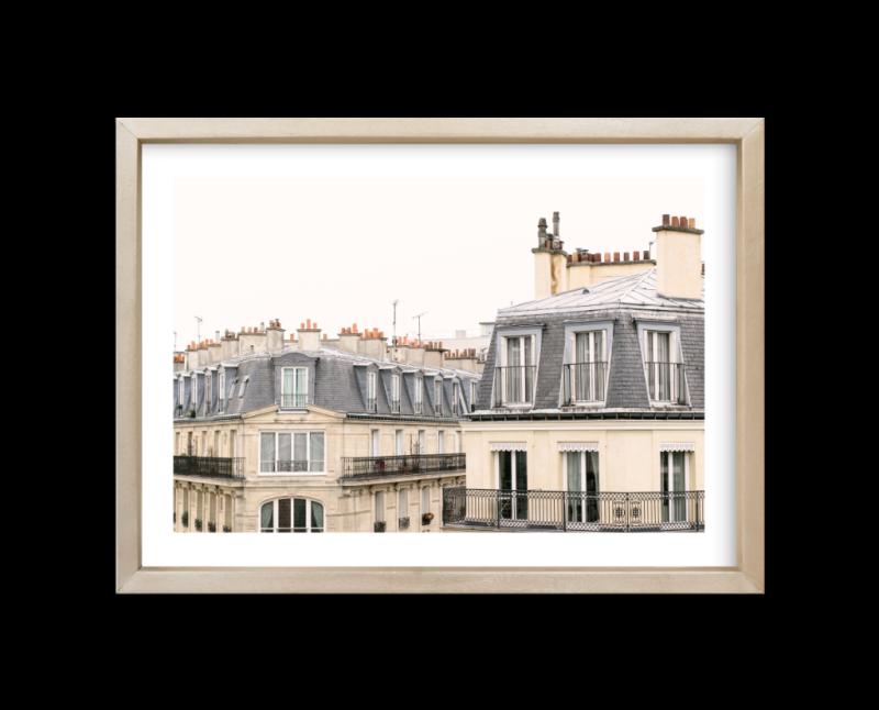Parisian Windows print