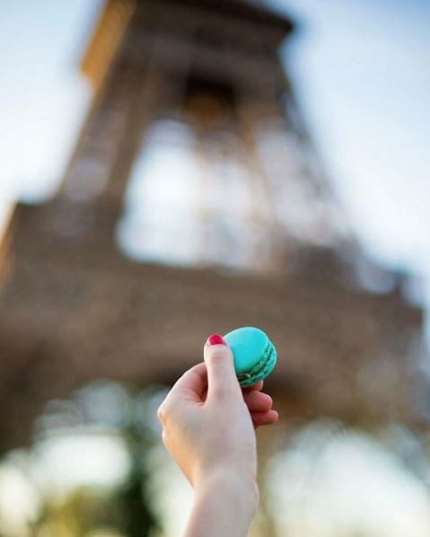 Macarons and the Eiffel Tower