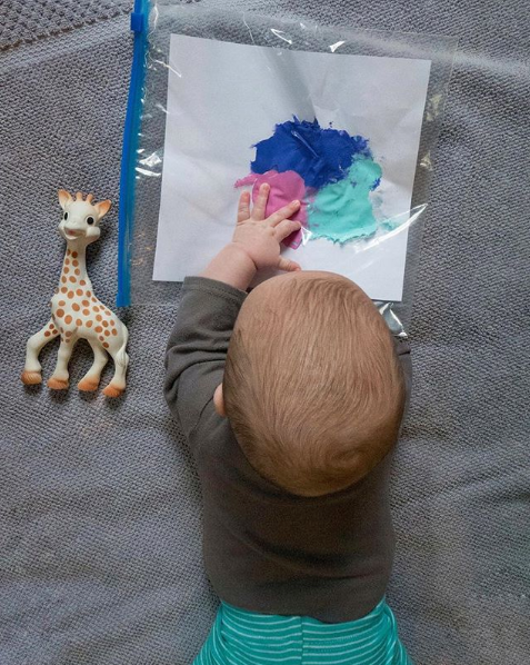Baby art project