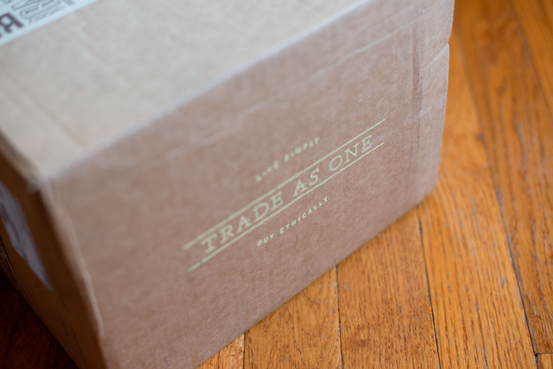 Trade as One: A subscription box full of ethical and fair trade products