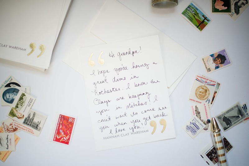 April is National Letter-Writing Month! Tips, tricks, and a #giveaway