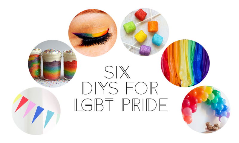 6 DIYs for LGBT Pride! #pride