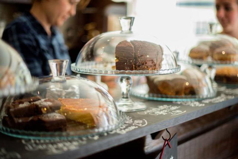 Samovar Tea House in Ely, England