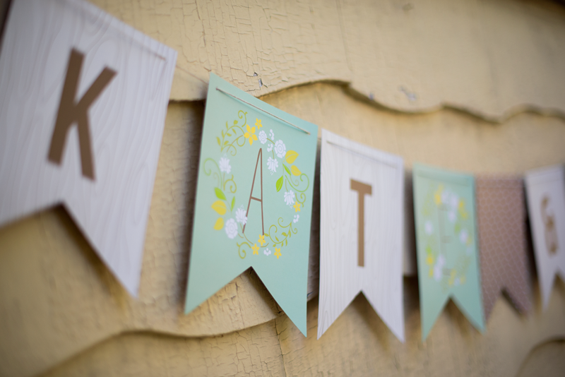 Customized Minted banner