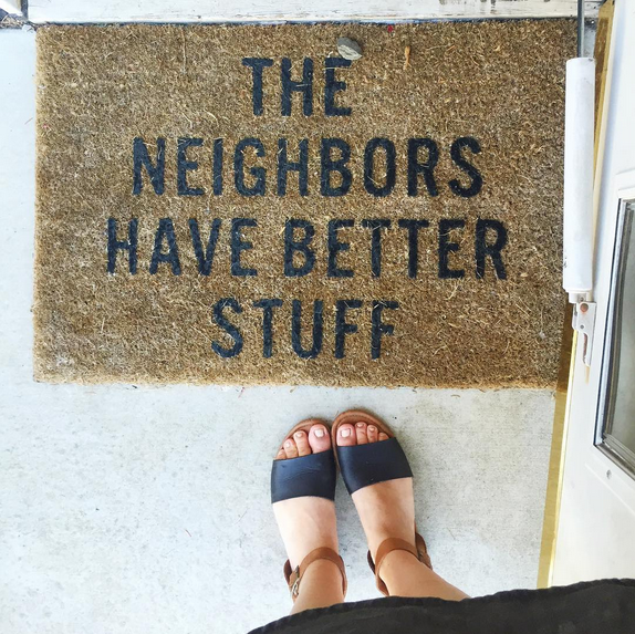 Love this doormat!!