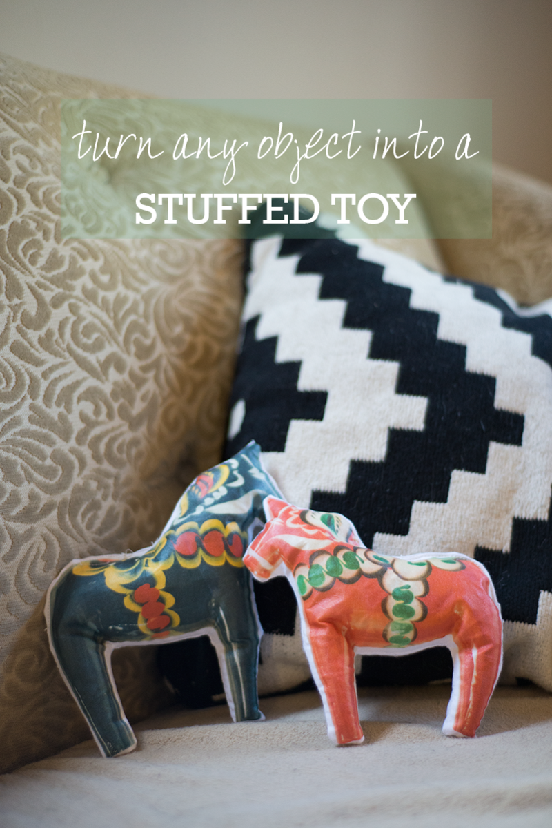 Turn anything into a stuffed toy with this tutorial!