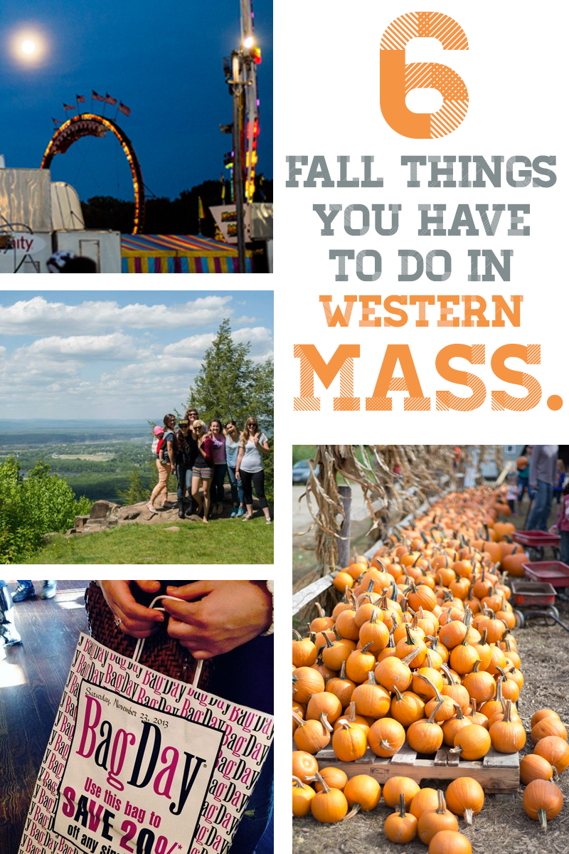 Fall activities you HAVE to do in western MA!