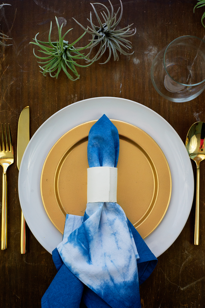DIY clay napkin ring tutorial