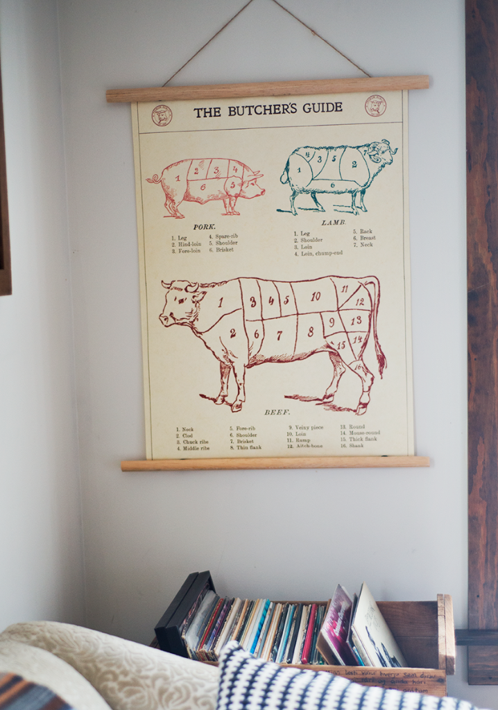 DIY (reusable!) minimalist poster frame