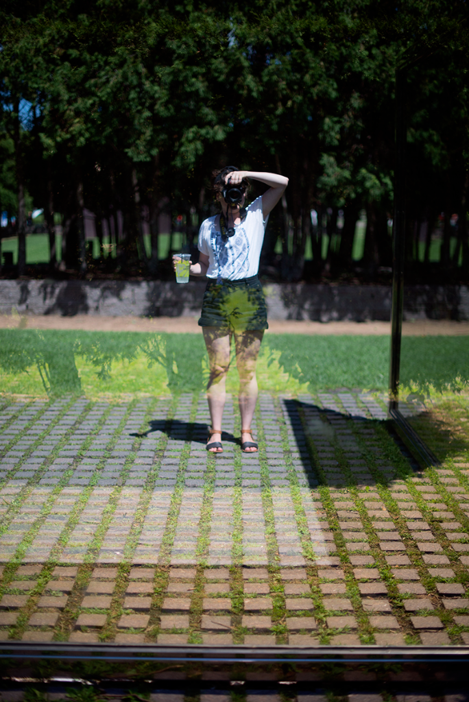 Reflection at the Minneapolis Sculpture Garden